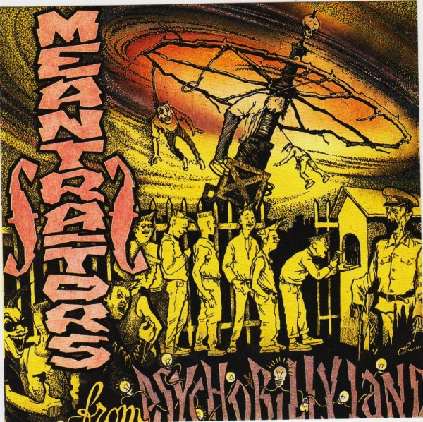 MEANTRAITORS - From Psychobilly Land CD