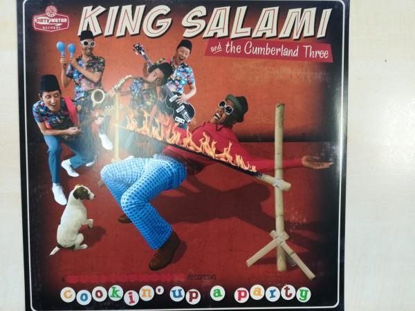 KING SALAMI & THE CUMBERLAND 3 - Cookin' Up A Party LP
