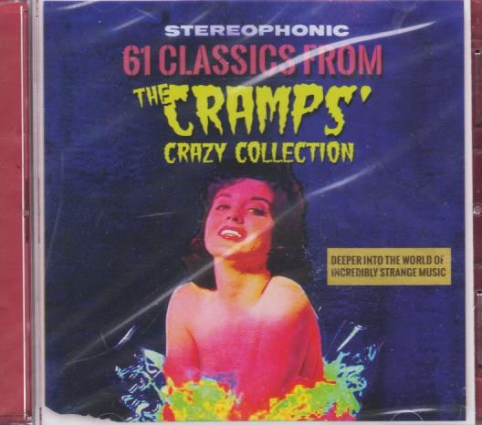 V.A. - 62 Classics From THE CRAMPS' Crazy Collection 2 x CD