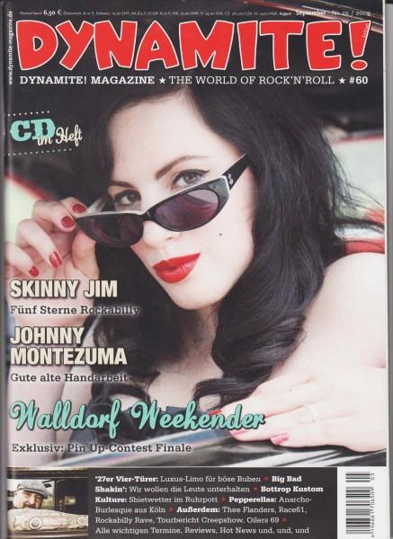 DYNAMITE #60 Magazine + CD