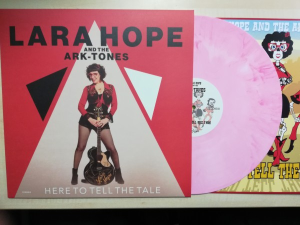 LARA HOPE AND THE ARK-TONES - Here To Tell The Tale LP pink ltd.