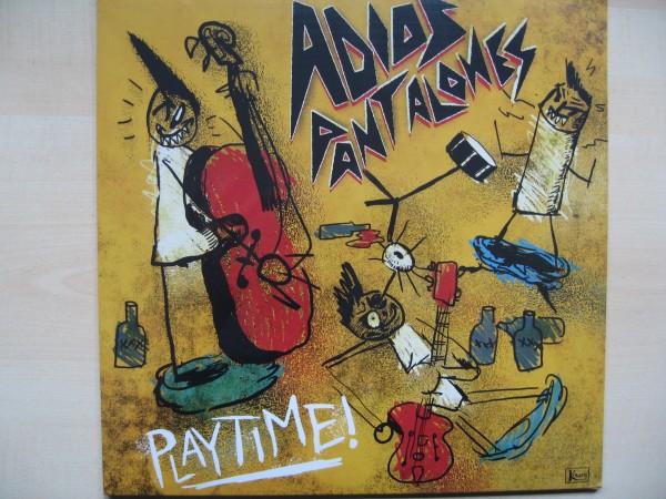 ADIOS PANTALONES - Playtime! LP + CD