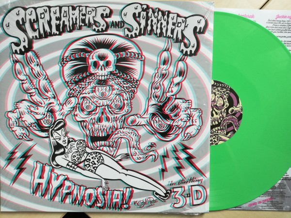 SCREAMERS AND SINNERS - Hypnosia! LP green ltd.
