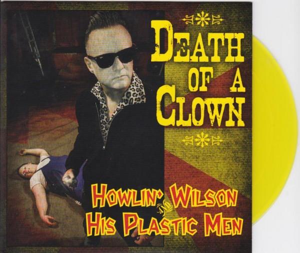 """HOWLIN WILSON - Death Of A Clown 7""""EP"""