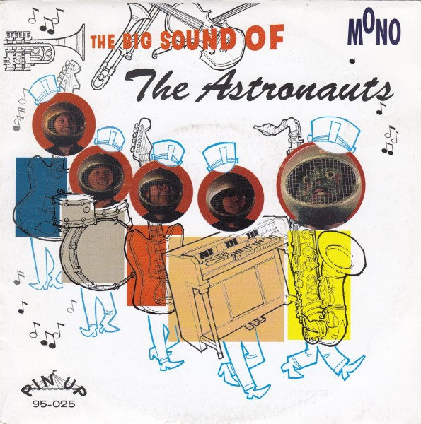 "ASTRONAUTS - The Big Sound Of...7""EP 2nd hand"