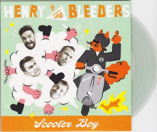 "HENRY & THE BLEEDERS - Scooter Boy 7""EP"