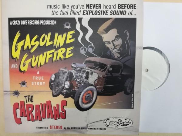 CARAVANS - Gasoline And Gunfire LP white label ltd.