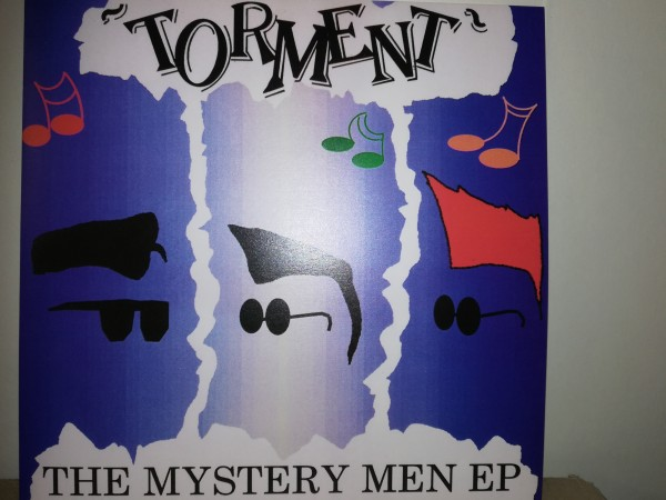 "TORMENT - The Mystery Men EP 7""EP black"