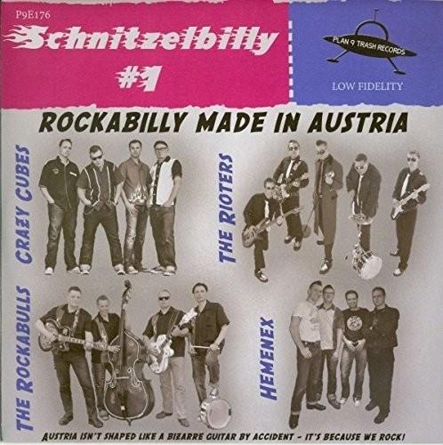 "V.A. - Schnitzelbilly Vol.1 7""EP ltd."