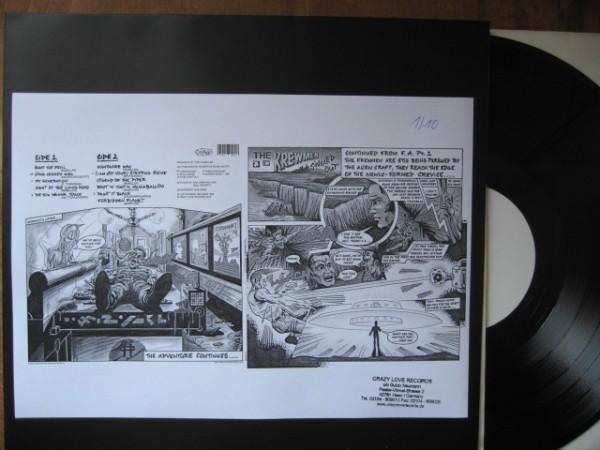 """KREWMEN - Singled Out 2 x 12""""LP white label"""