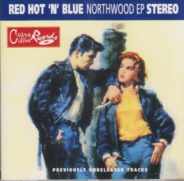 RED HOT AND BLUE-Northwood EP CD
