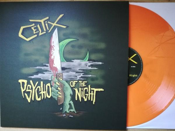 "CELTIX - Psycho Of The Night 12""MLP orange ltd."