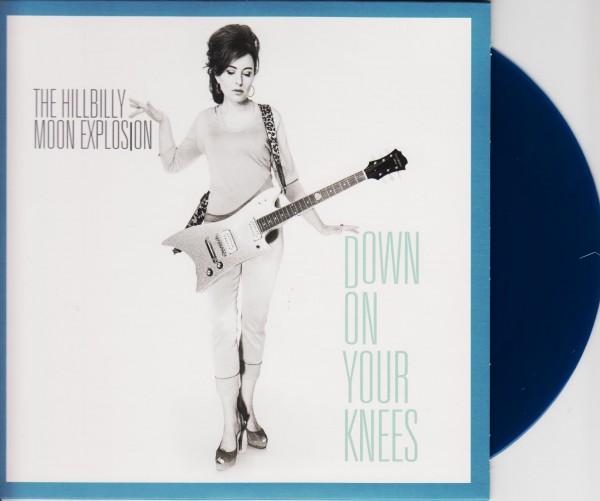 "HILLBILLY MOON EXPLOSION - Down On Your Knees 7"" ltd."