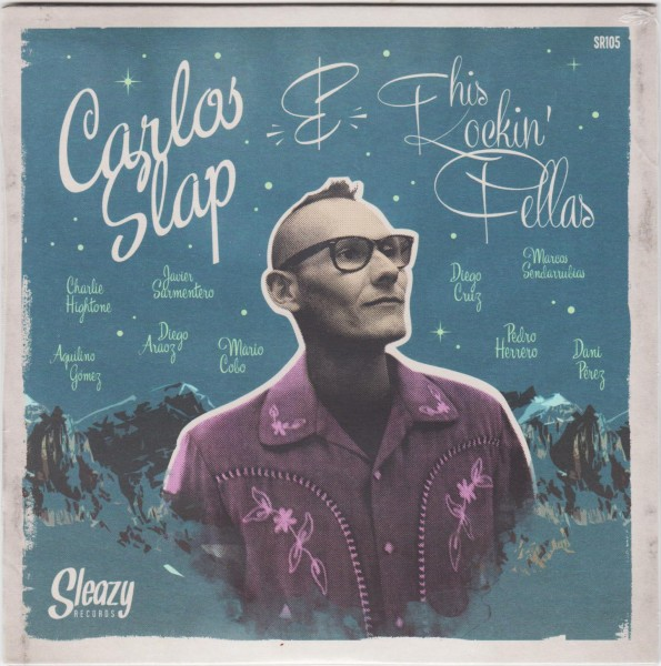 "CARLOS SLAP - One Shout 7""EP"