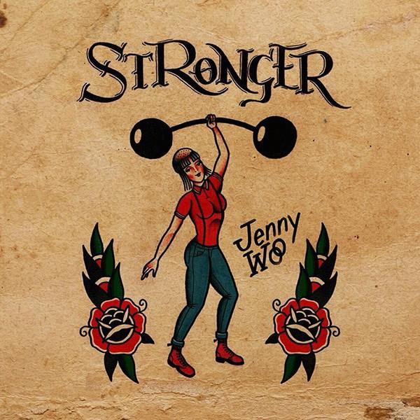 JENNY WOO - Stronger LP