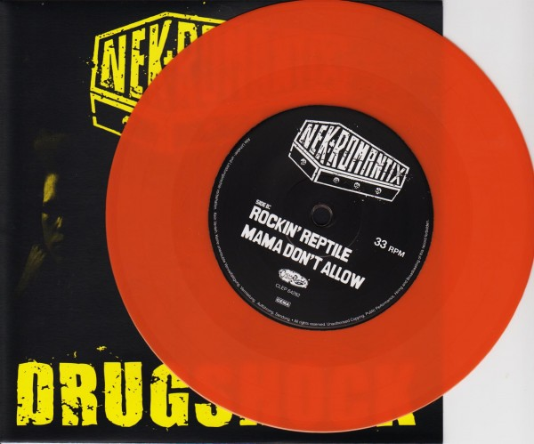 "NEKROMANTIX - Drugshock 7""EP ORANGE ltd."