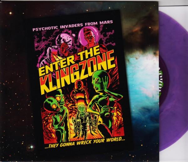 "KLINGONZ - Enter The Klingzone 7""EP ltd purple"