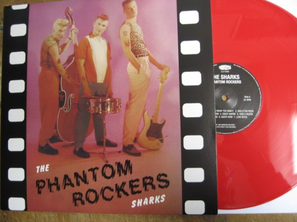 SHARKS - Phantom Rockers LP red ltd.