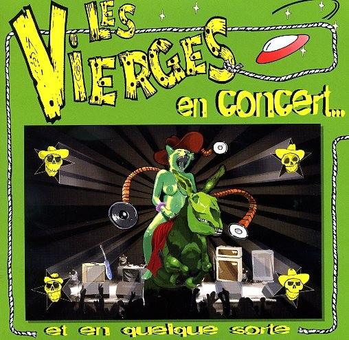 """VIERGES, LES - En Concert 2 x 7"""" + CD"""