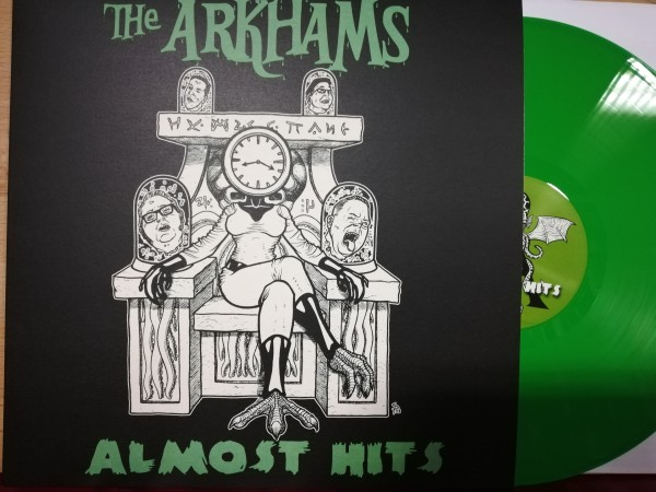 ARKHAMS - Almost Hits LP ltd. green