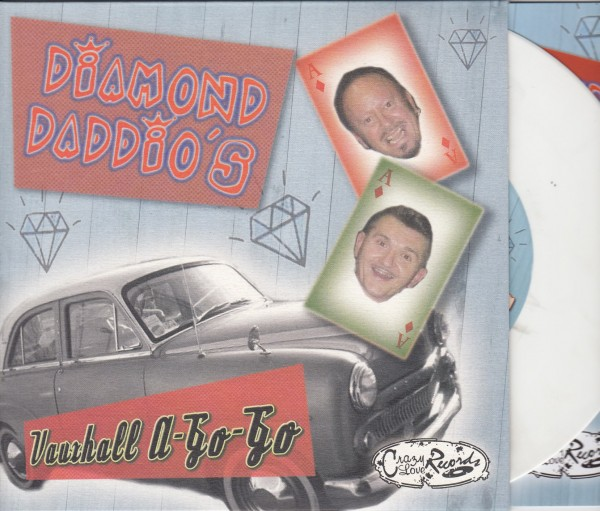 "DIAMOND DADDIO'S - Vauxhall A-Go-Go 7""EP white ltd."