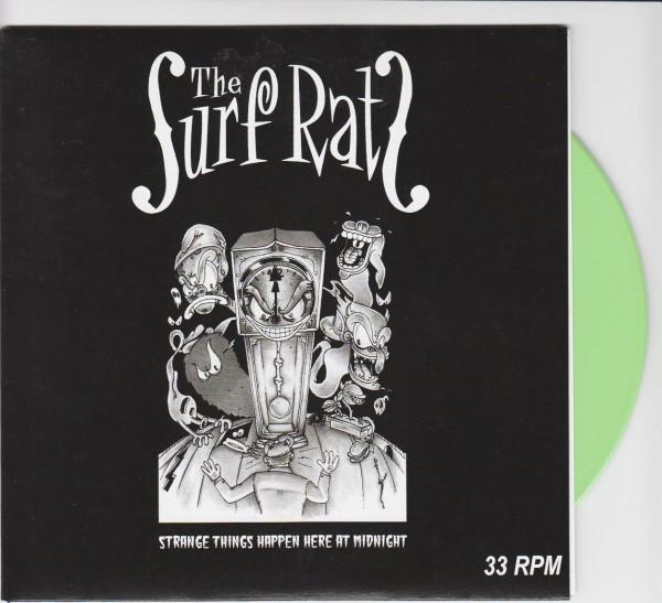 "SURF RATS - Strange Things Happen...7""EP green ltd."