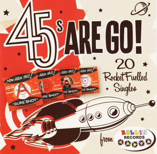 V.a. - 45s Are Go! CD