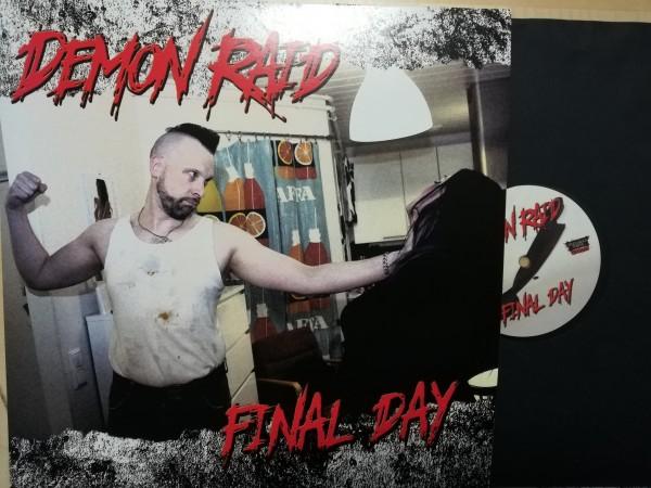 DEMON RAID - Final Day LP ltd. black