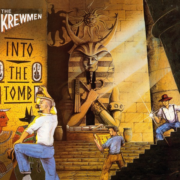 KREWMEN - Into The Tomb LP brown ltd.
