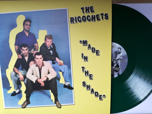 RICOCHETS - Made In The Shade LP green ltd.