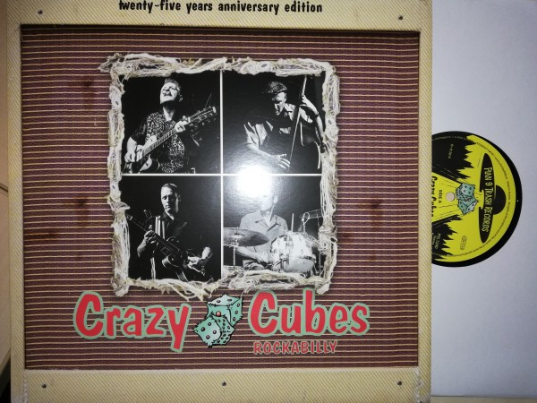 CRAZY CUBES - Rockabilly 25 Years LP
