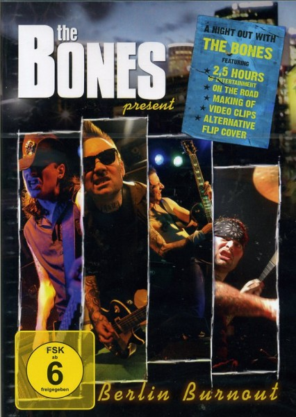 BONES - Berlin Burnout DVD