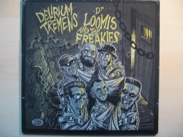 """DELIRIUM TREMENS / DR LOOMIS & THE FREAKIES 10""""EP"""