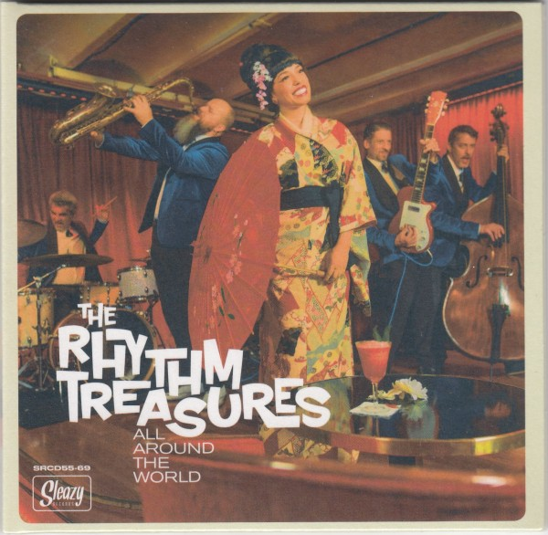 RHYTHM TREASURES - All Around The World CD