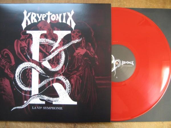 KRYPTONIX - La 6ème Symphonie LP RED ltd.