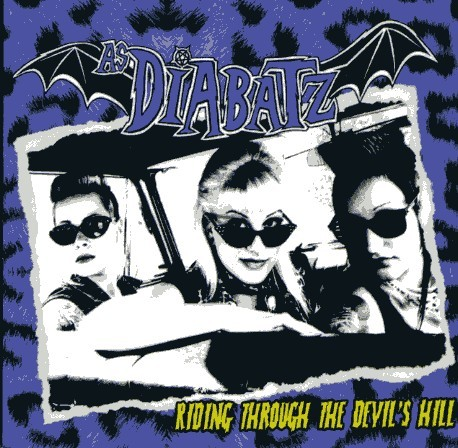 AS DIABATZ - Riding Through The Devil's Hill CD