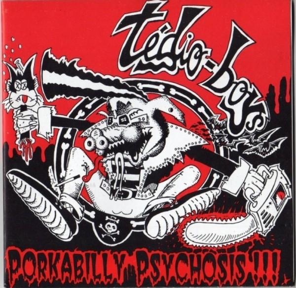 TÉDIO BOYS - Porkabilly Psychosis!!! LP ltd.