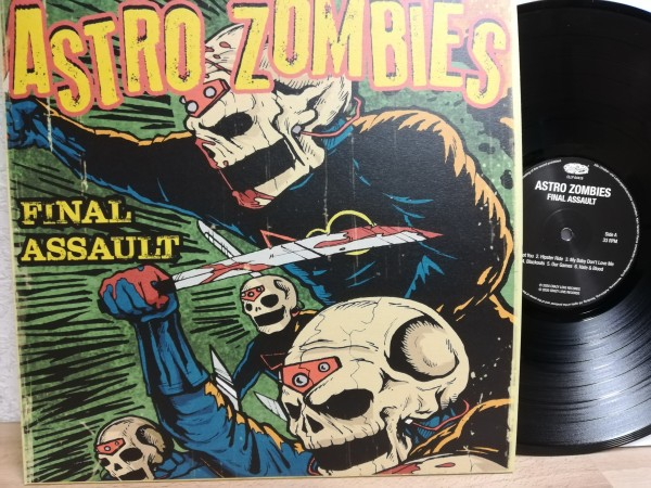 ASTRO ZOMBIES - Final Assault LP black vinyl