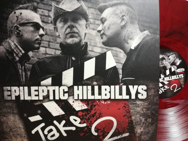 EPILEPTIC HILLBILLYS - Take Two LP red ltd.