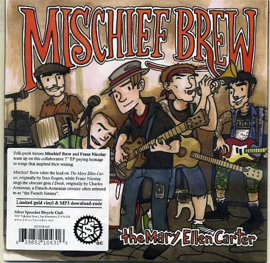"Mischief Brew & Franz Nicolay - Under The Table 7""EP"