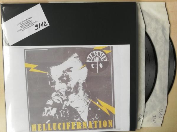 "DEMENTED ARE GO - Hellucifernation 2 x 12""LP test pressing"