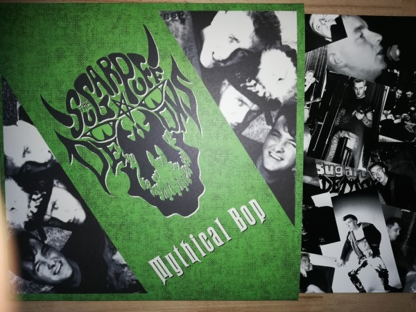 SUGAR PUFF DEMONS - Mythical Bop LP green ltd.