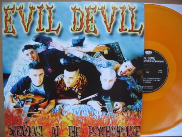 EVIL DEVIL - Breakfast At The Psychohouse LP orange ltd.