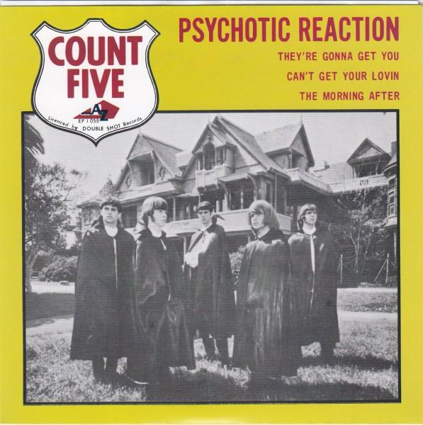 "COUNT FIVE - Psychotic Reaction 7""EP"