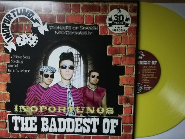 INOPORTUNOS - The Baddest Of LP yellow ltd.