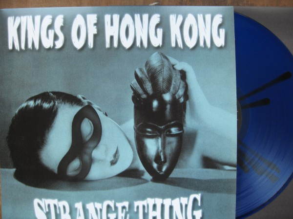 KINGS OF HONG KONG - Strange Thing LP ltd. splatter vinyl