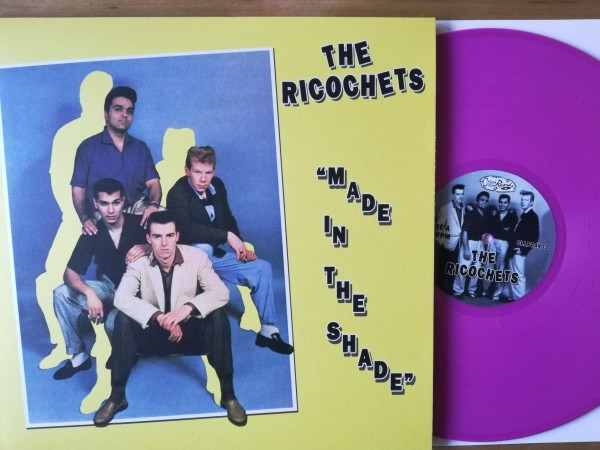 RICOCHETS - Made In The Shade LP ltd. MAGENTA