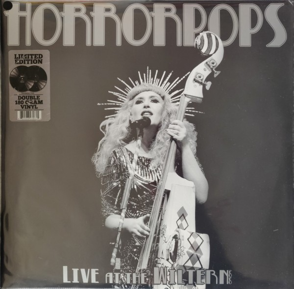 HORRORPOPS - Live At the Wiltern 2020 double LP