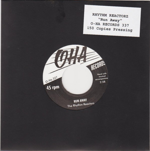 "RHYTHM REACTORZ - Run Away 7"" ltd."