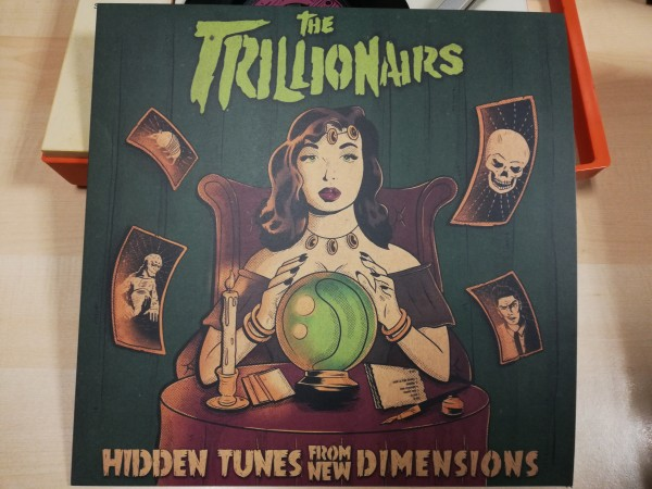 TRILLIONAIRS - Hidden Tunes From New Dimensions LP